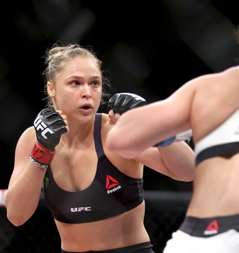 Rousey fights Brazilian Bethe Correia in August.