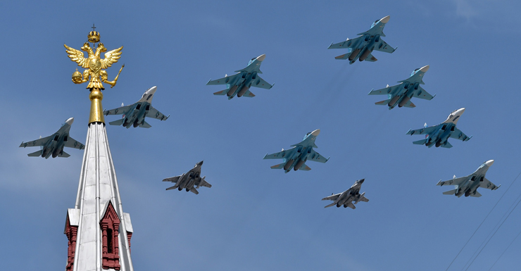 russian warplanes jets fighters bomb Syria