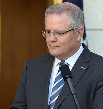 With regard to CIPRs, Treasurer Scott Morrison is trying not to scare the horses.