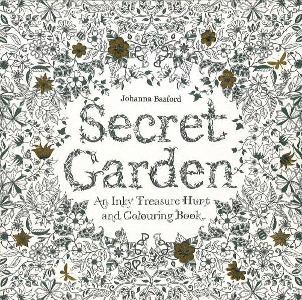 Johanna Basford's 'Secret Garden' is one of the most popular colouring books on the market.