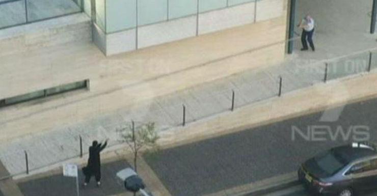 Farhad Jabar Khali Mohammad during the shootout with police.