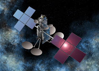 Sky Muster is the first of two NBN satellites. Photo: AAP