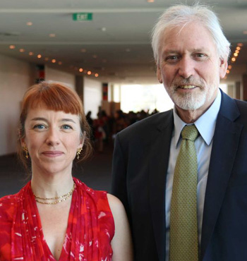 Professor Emily Banks and Professor Alan Lopez addressed a WA Cancer Council smoking conference.