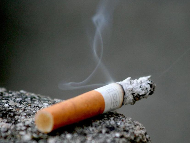 Smoking rates have declined sharply in Australia.