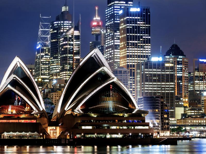 Shutterstock sydney night
