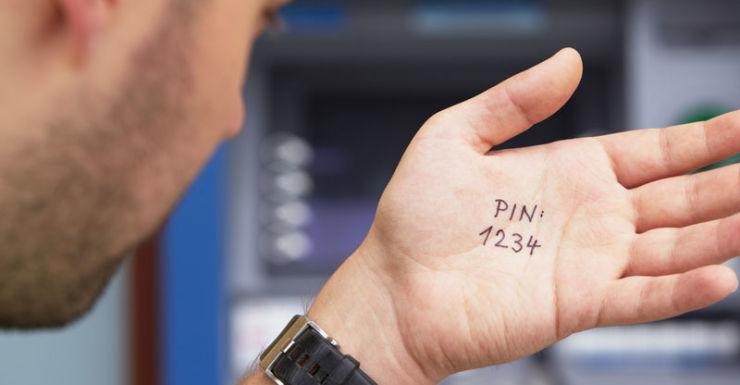 memory loss PIN number