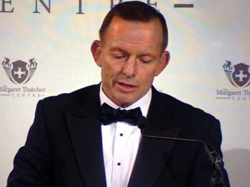 Tony Abbott Thatcher lecture