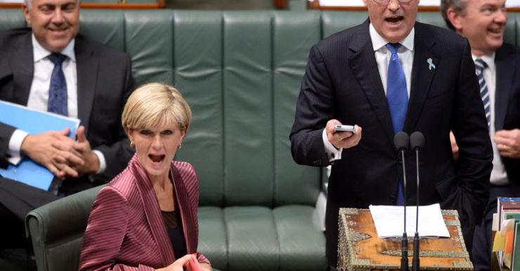 Malcolm turnbull Julie Bishop, Dec 2014