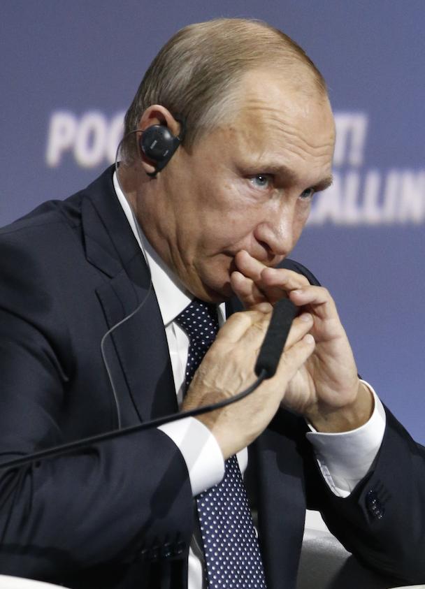 Mr Putin and Russia are still under pressure to answer MH17 questions, despite his government's deflections. Photo: Getty