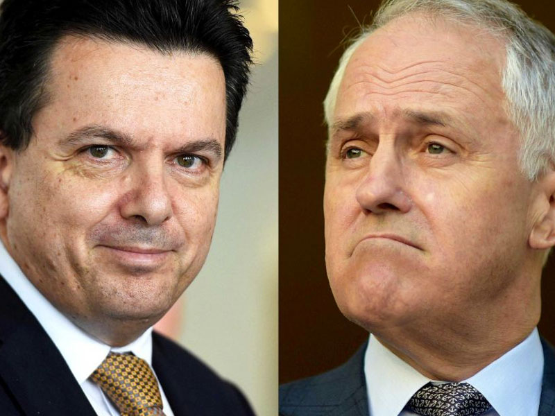 nick xenophon malcolm turnbull