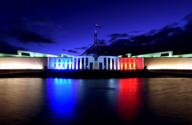 Parliament House in Canberra. Photo: AAP