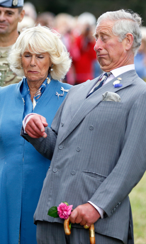 Charles loves acting, as a hobby. Camilla likes to watch TV.