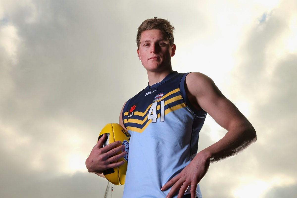 GWS Academy product Jacob Hopper. Photo: Getty