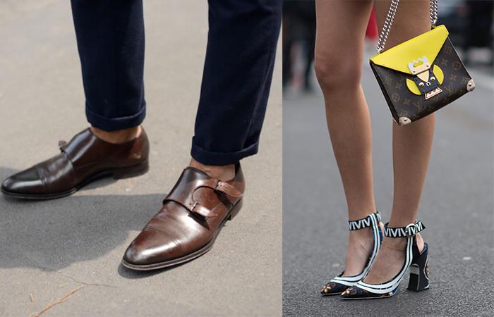 95e496a325c Men s footwear vs women s footwear. Photo  Getty