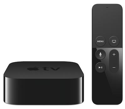 The brand spankin' new Apple TV.