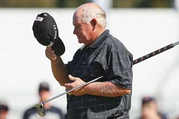 Senior citizen: Senior's last win at the Masters came in 1995. Photo: Getty