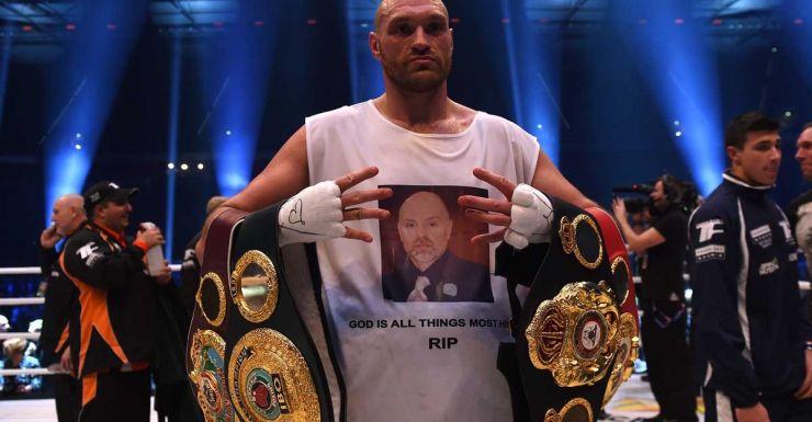 Boxer Tyson Fury