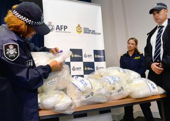 drug haul afp police