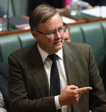 Labor was quick to point the finger at Mr Brough.