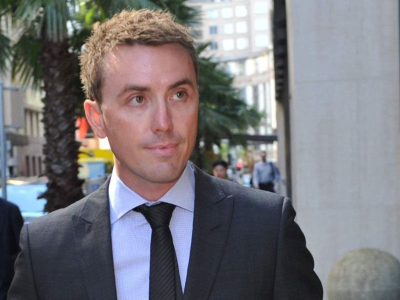 James Ashby is shocked and disappointed by the police search.