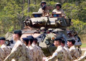 australian soldiers troops