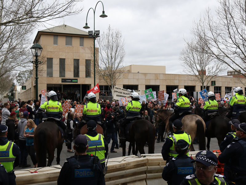 bendigo protests