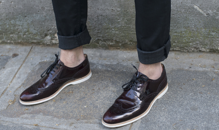 Brogues are a great timeless option for men and women.Photo: Getty
