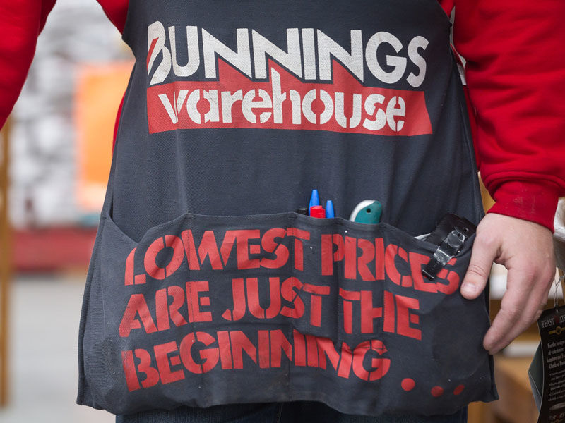 Bunnings must monitor its competitors.