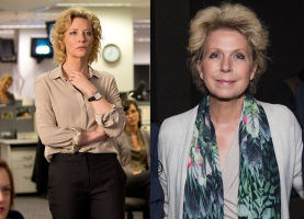 In 'Truth', Cate Blanchett (left) stars alongside Robert Redford as Mary Mapes (right), the American producer of '60 Minutes'.