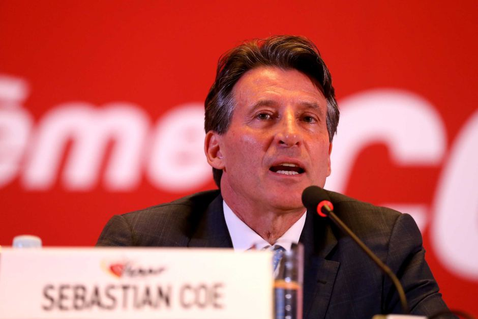 Sebastian Coe has only been in the job for three months. Photo: ABC