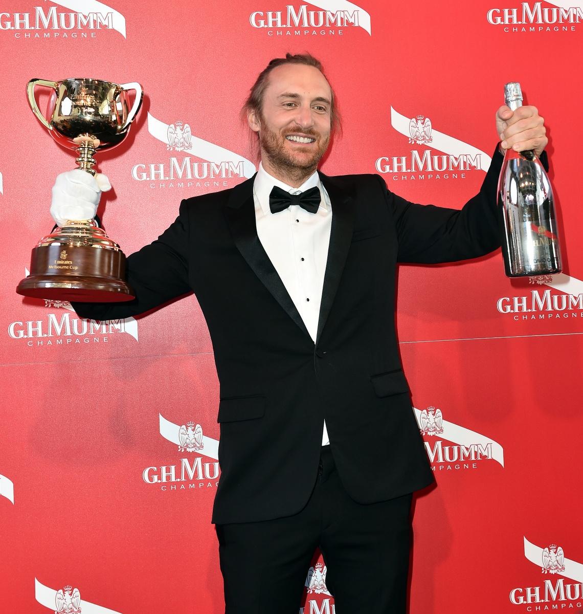 David Guetta Melbourne Cup