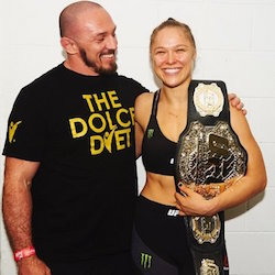 ronda rousey mike dolce