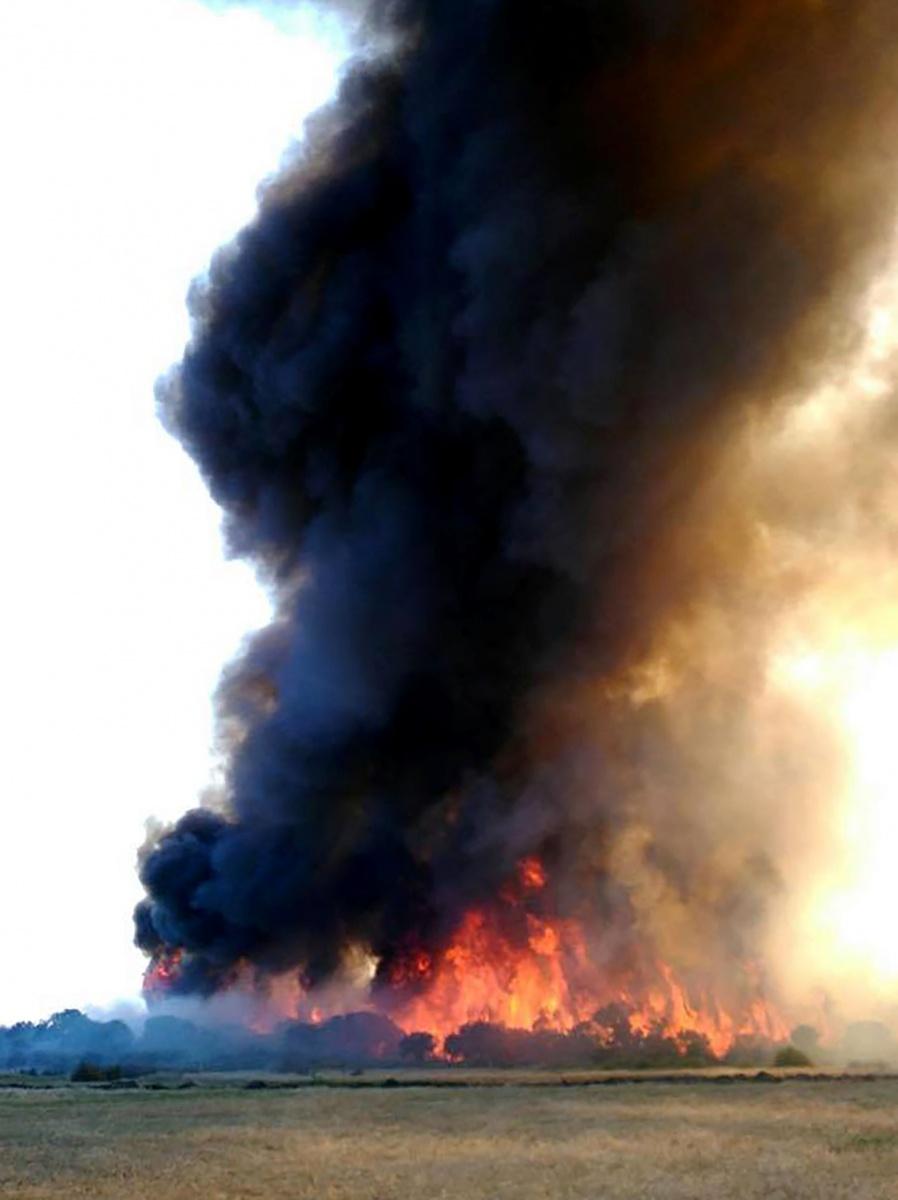 esperance blaze smoke