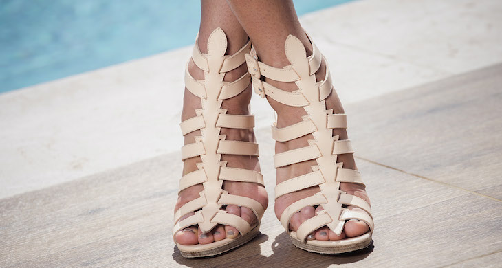 Gladiator sandals are the trend that keeps giving. Photo: Getty