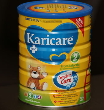 """Karicare is one brand under the pump trying to increase supplies amid """"unprecedented"""" demand."""