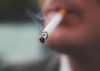 male smoker cigarettes