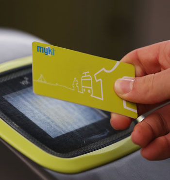 The myki was plagued with implementation problems.