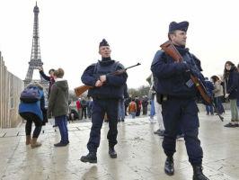 paris attacks police patrol