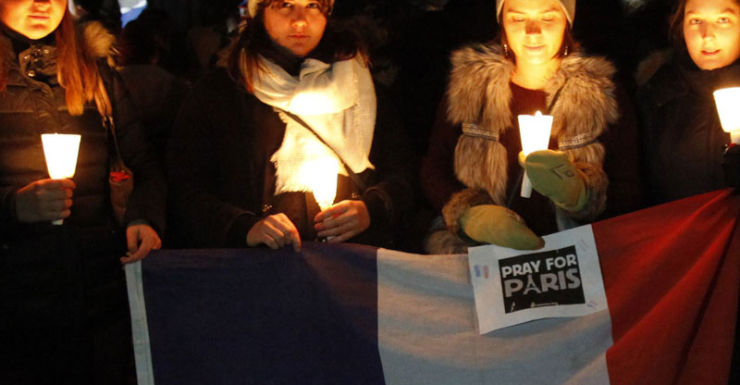 paris attacks vigil