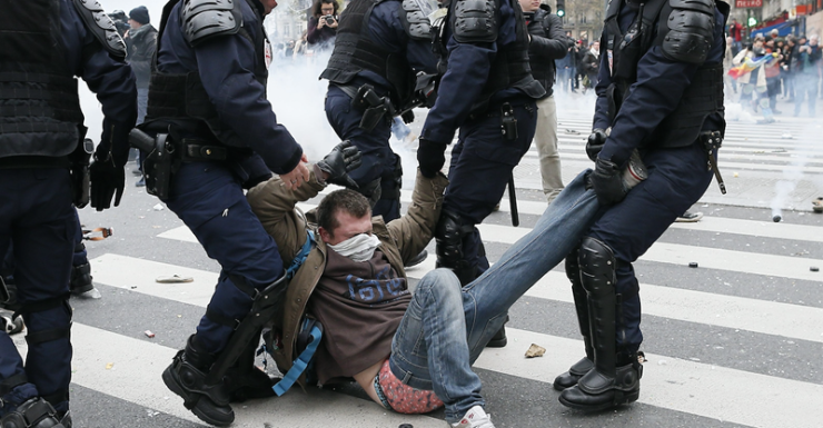 getty paris protests