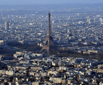 Height limits have been raised to 180 metres in Paris. Photo: AAP