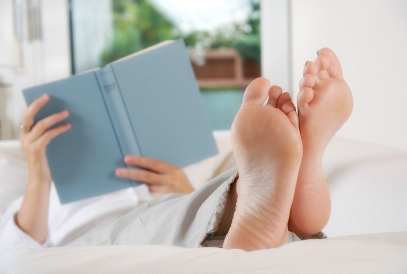 Put your feet up- but not during the flight. Photo: Shutterstock