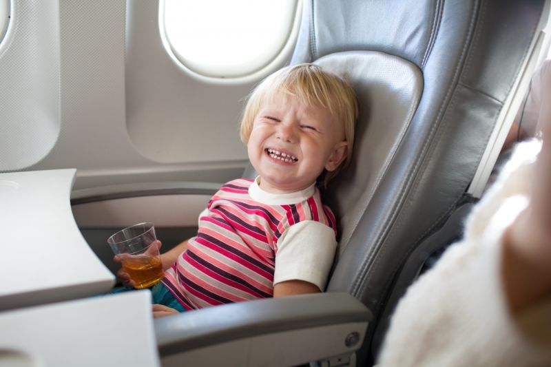 Noisy kids are a common complaint. Photo: Shutterstock