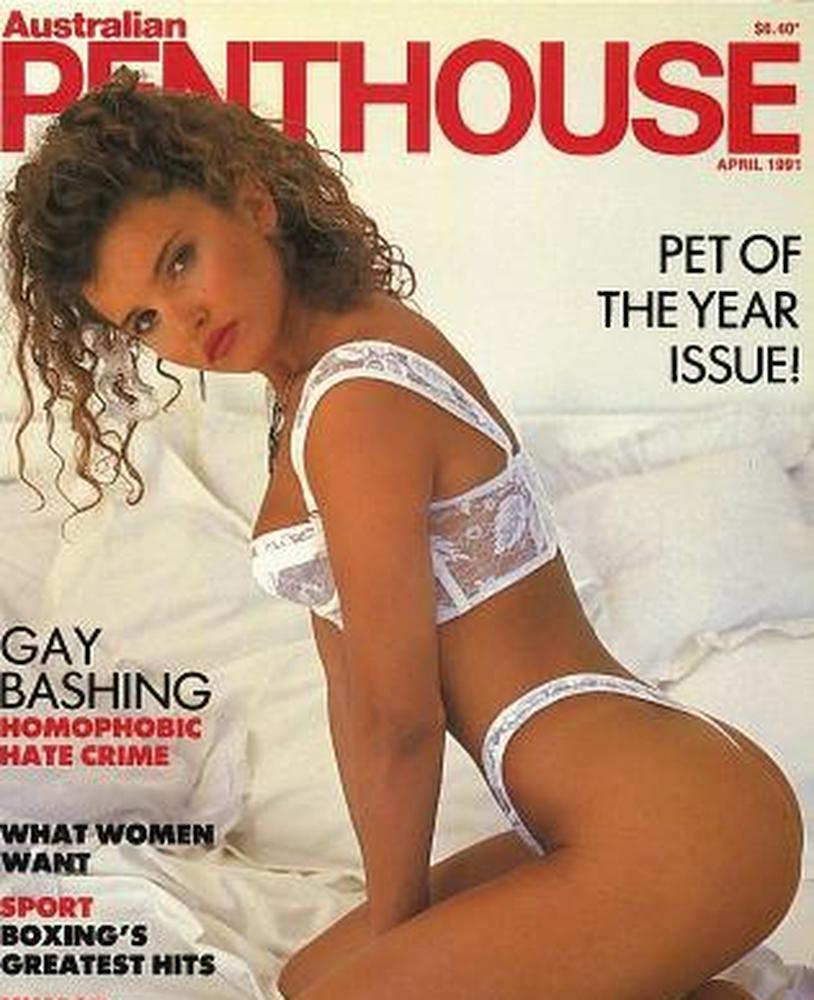 Suzi Taylor in her 'Penthouse' magazine days.