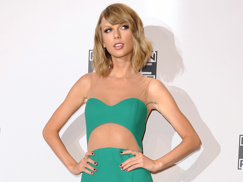 Has the mood changed for Taylor Swift.
