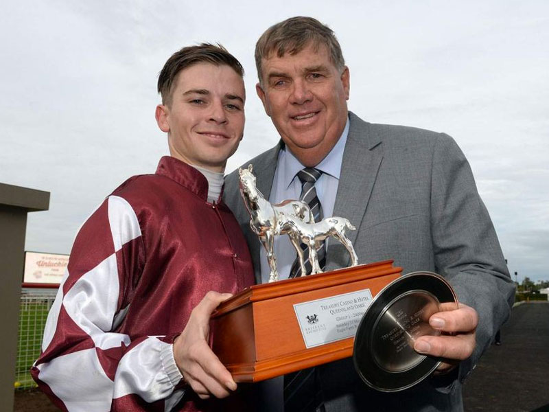 Tim Bell jockey