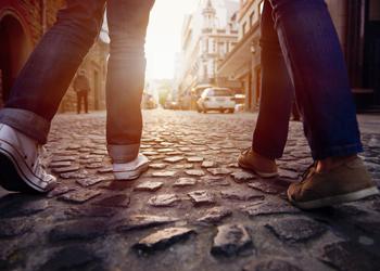 walker walking foot steps