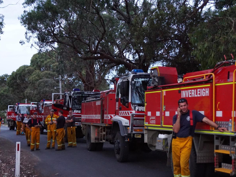 Lorne Bushfires