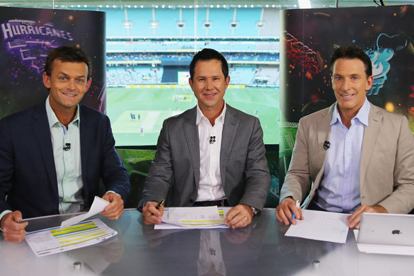 Network Ten's commentary team significantly adds to the competition. Photo: Getty