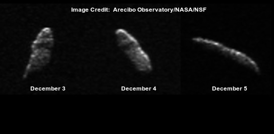 christmas eve asteroid